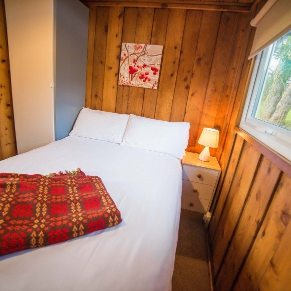 Timber Hill Lodge Double Bedroom